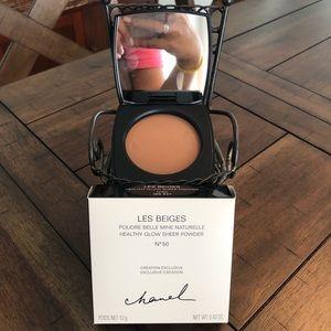 LE Chanel Les Beiges Powder #50